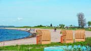 txn-p. Urlaub am Meer: In der Region um Langballig finden sich zahlreiche strandnahe Campingplätze mitten in der Natur Schleswig-Holsteins.