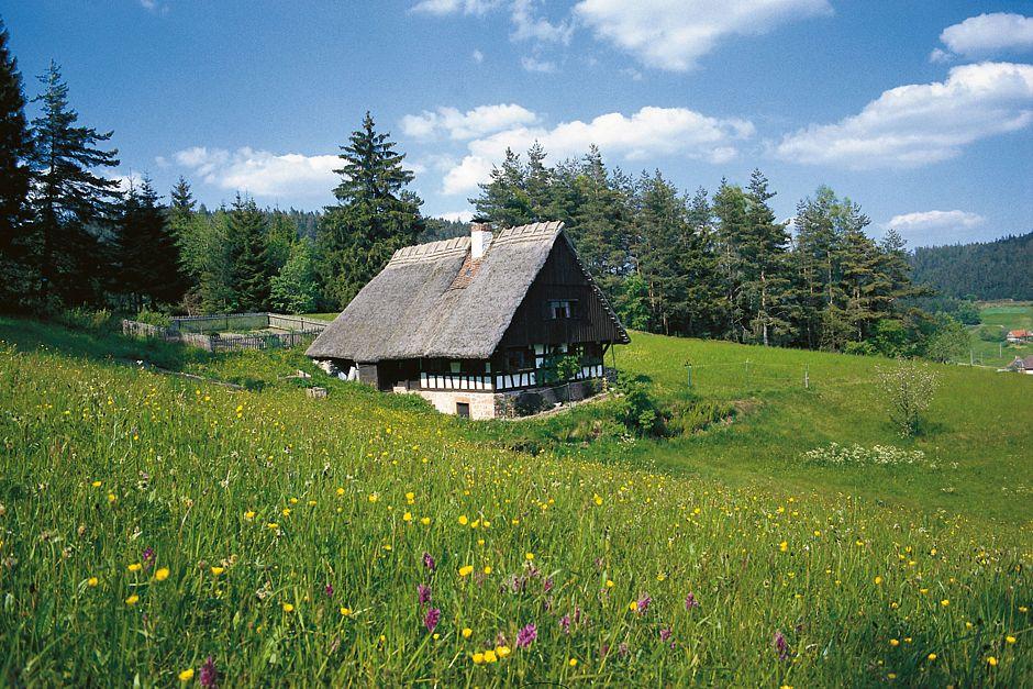 """Auf der """"Lauterbacher Hochtalrunde"""" durch das malerische Sulzbachtal gelangen Wanderer auch zum Kapfhäusle. Foto: djd/Landkreis Rottweil"""