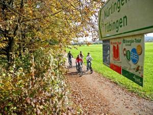 Alle Themen-Touren sind einheitlich ausgeschildert. Foto: djd/Tourismusförderung Landkreis Tübingen