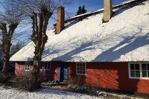 Das Haus Bertelsmann ist eines der ältesten Künstlerhäuser in Worpswede. Foto: djd/Touristikagentur Teufelsmoor-Worpswede-Unterweser e.V./Alexandra Gerken