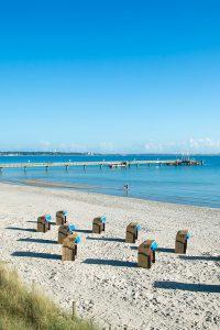 Das satte Blau der Ostsee in der Lübecker Bucht. Foto: djd/Tourismus-Agentur Lübecker Bucht