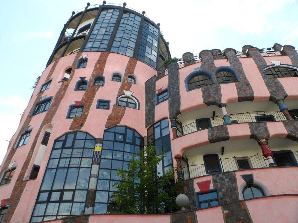 "Hundertwasserhaus ""Grüne Zitadelle"""