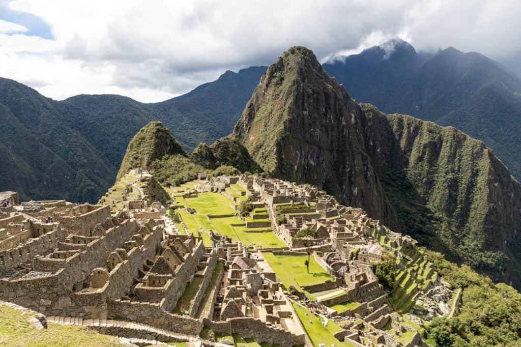 Die Inkaruine Machu Picchu