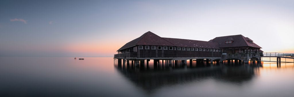 Bodensee frühmorgens I Panorama