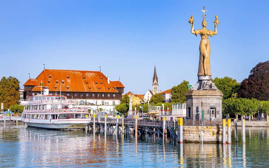 Imperia in Konstanz am Bodensee
